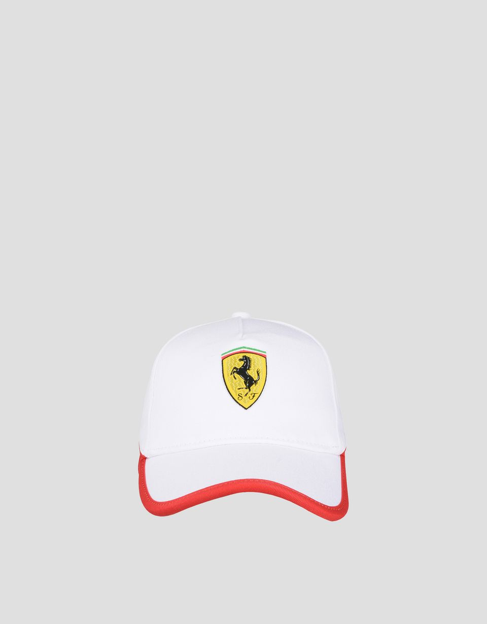 Scuderia Ferrari Online Store - Two-color baseball cap for children - Baseball Caps