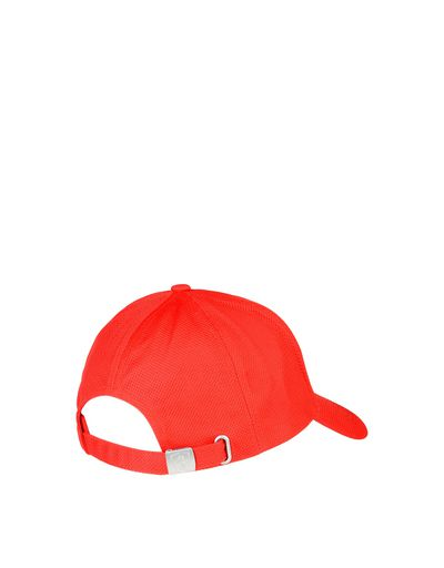 Scuderia Ferrari Online Store - Men's cotton and perforated fabric cap - Baseball Caps