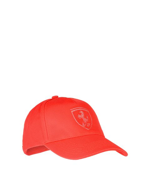 Men's cotton and perforated fabric cap