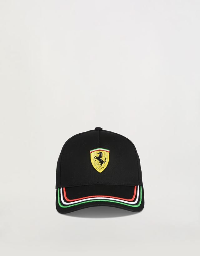Scuderia Ferrari Online Store - Tricolor baseball cap for children -  Baseball Caps ... bfc31980d3b6