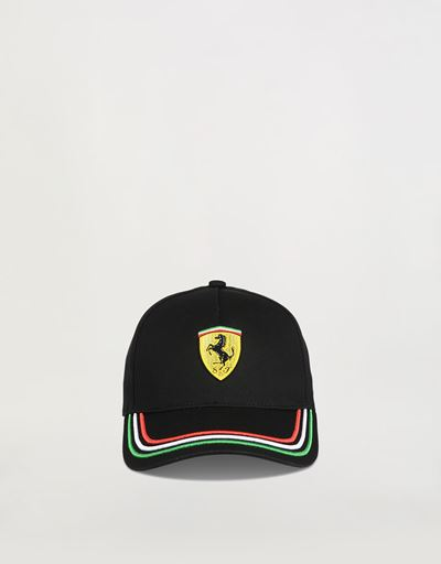 Boys' cap with Italian flag on the visor