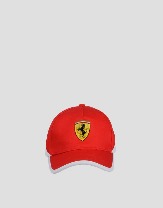 Scuderia Ferrari Online Store - Casquette bicolore pour garçon - Casquettes  de baseball ... 83cca977d66