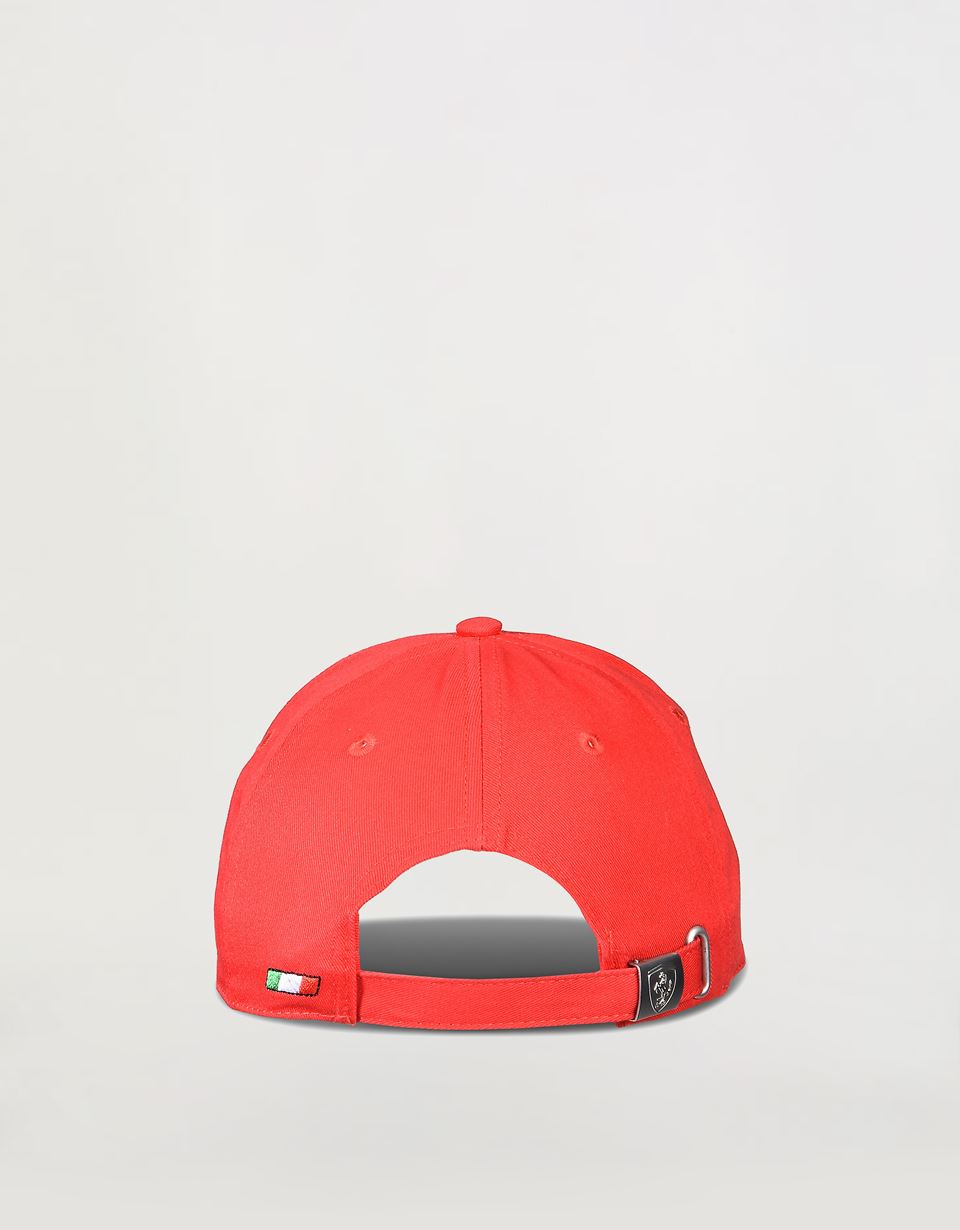 Scuderia Ferrari Online Store - Tricolor baseball cap for children - Baseball Caps