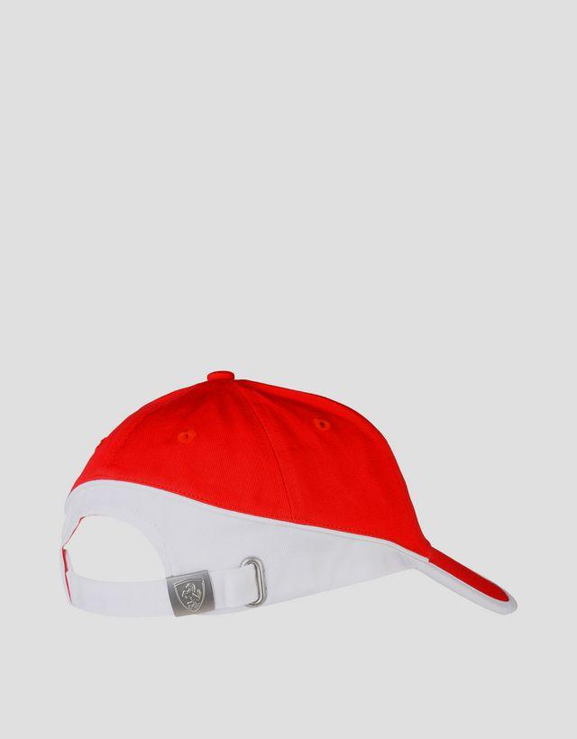 e2fb01f8a33 ... Scuderia Ferrari Online Store - Two-tone hat with Ferrari Shield - Baseball  Caps