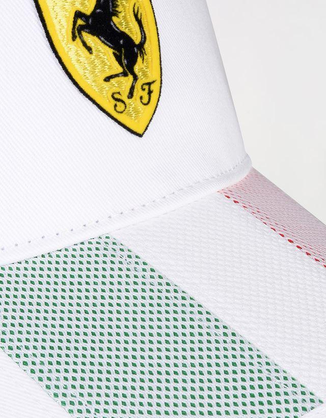 Scuderia Ferrari Online Store - Men's tricolour cap - Baseball Caps