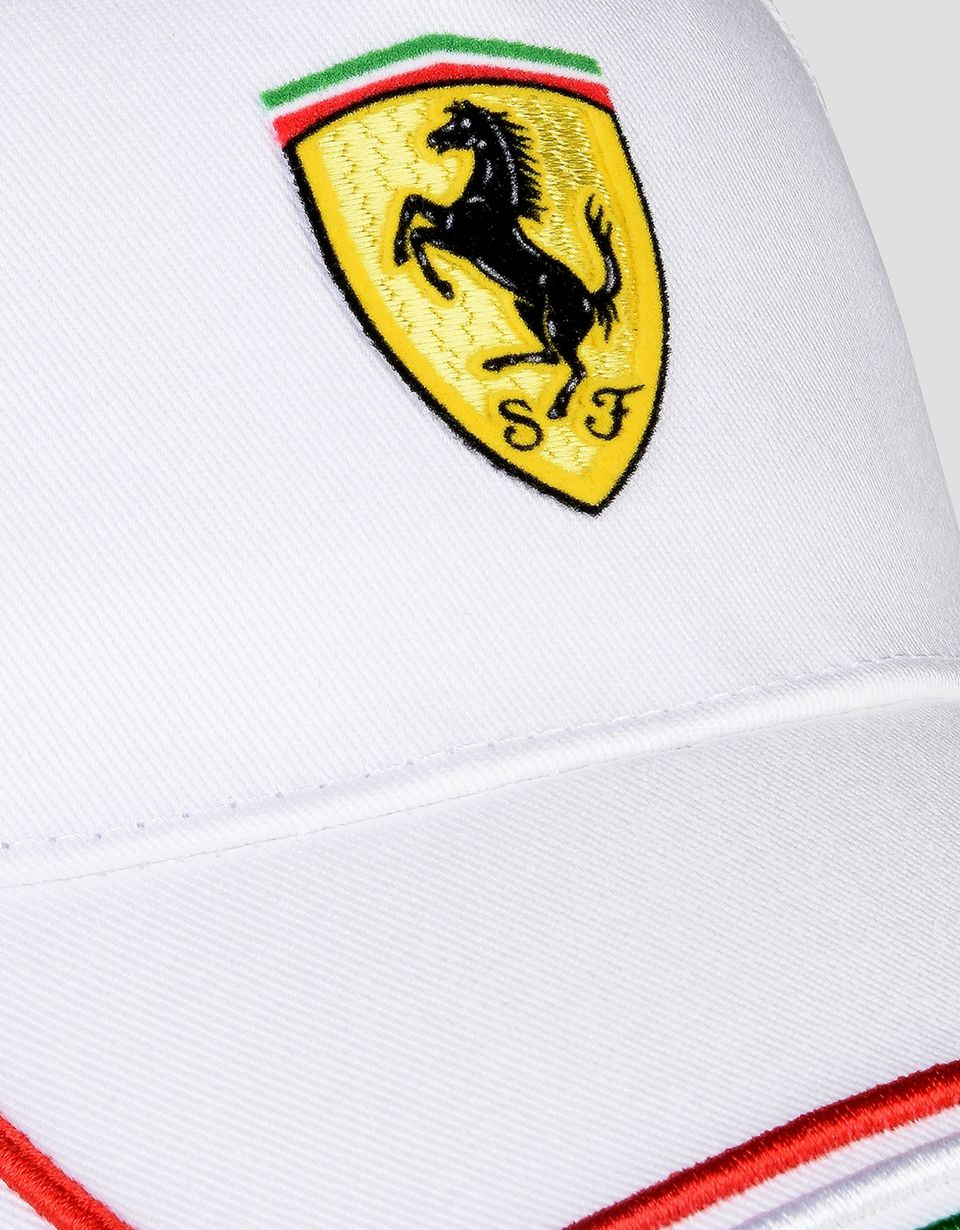 Scuderia Ferrari Online Store - Adjustable Italian flag hat - Baseball Caps