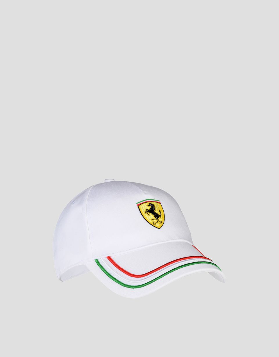 Scuderia Ferrari Online Store - Men's adjustable three-color cap - Baseball Caps