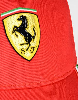 Scuderia Ferrari Online Store - Cap with tricolour design on the visor - Baseball Caps
