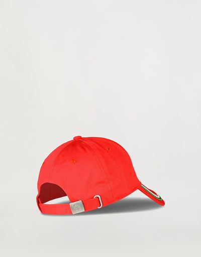 Scuderia Ferrari Online Store - Cap with Italian flag on the visor - Baseball Caps
