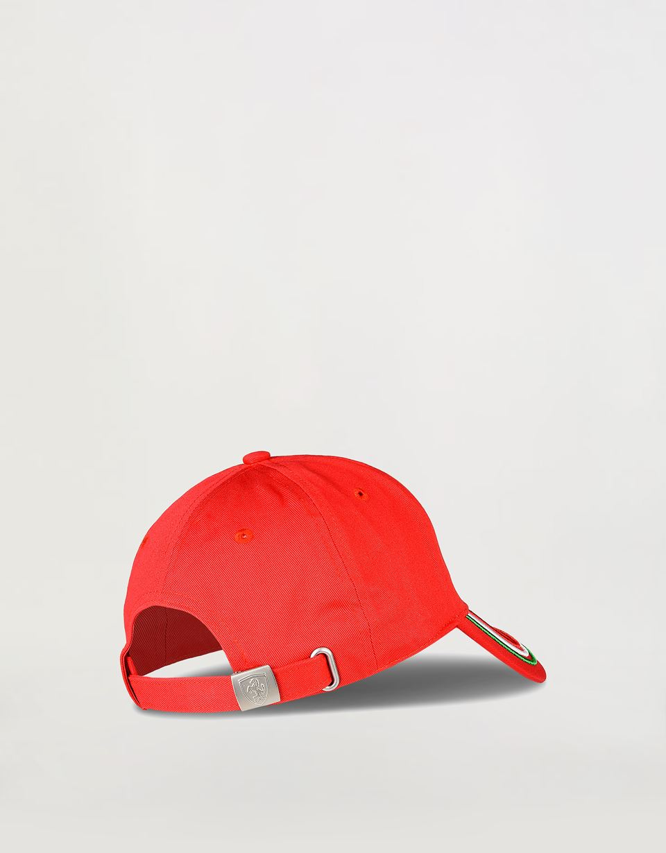 Scuderia Ferrari Online Store - Adjustable three-colour cap - Baseball Caps