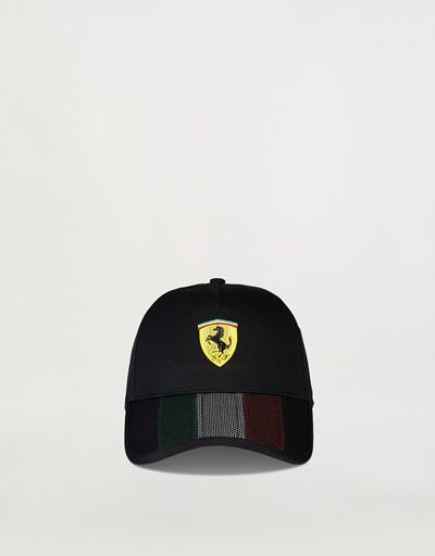Three-colour cap