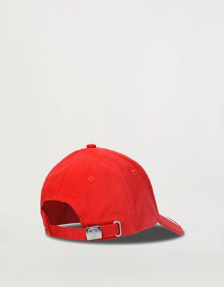Scuderia Ferrari Online Store - Cap with tricolour and perforated fabric on the visor - Baseball Caps