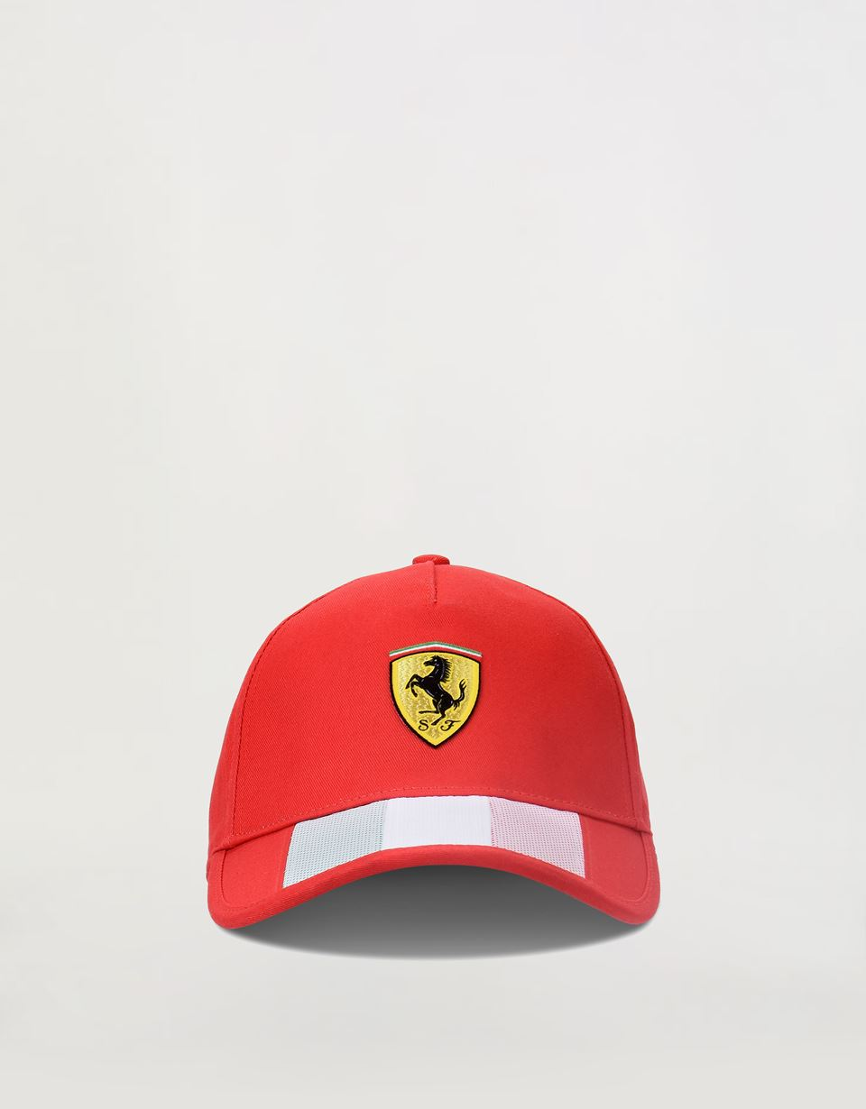 Scuderia Ferrari Online Store - Three-colour cap - Baseball Caps