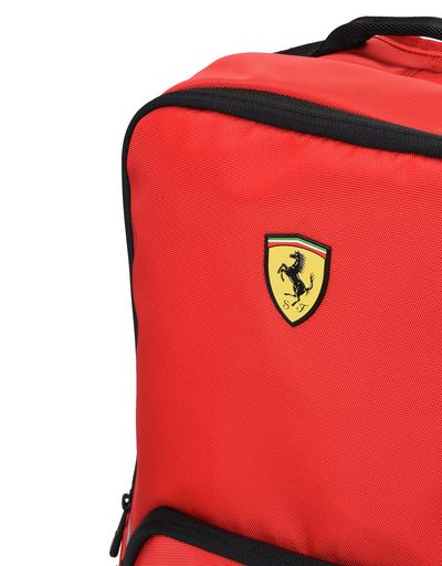 Scuderia Ferrari Online Store - Sports backpack with contrasting color details - Regular Rucksacks