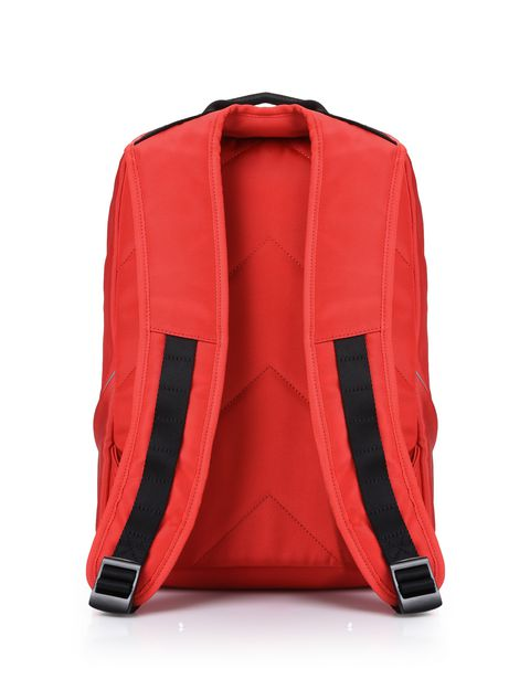 Sports backpack with contrasting colour details