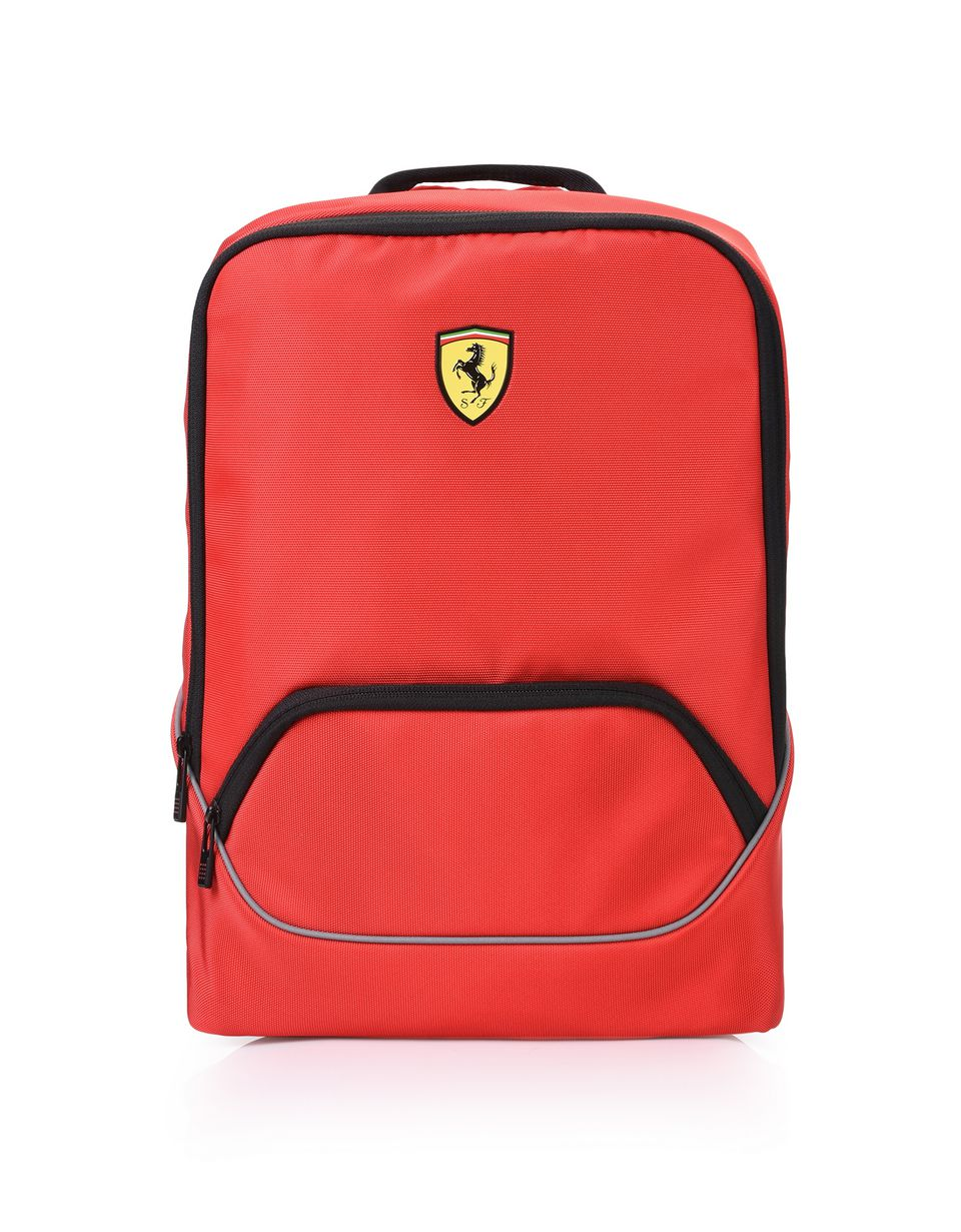 Scuderia Ferrari Online Store - Sports backpack with contrasting colour details -