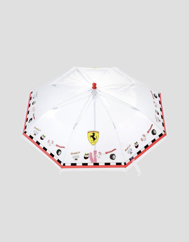 Scuderia Ferrari Online Store - Scuderia Ferrari umbrella for children - Regular Umbrellas