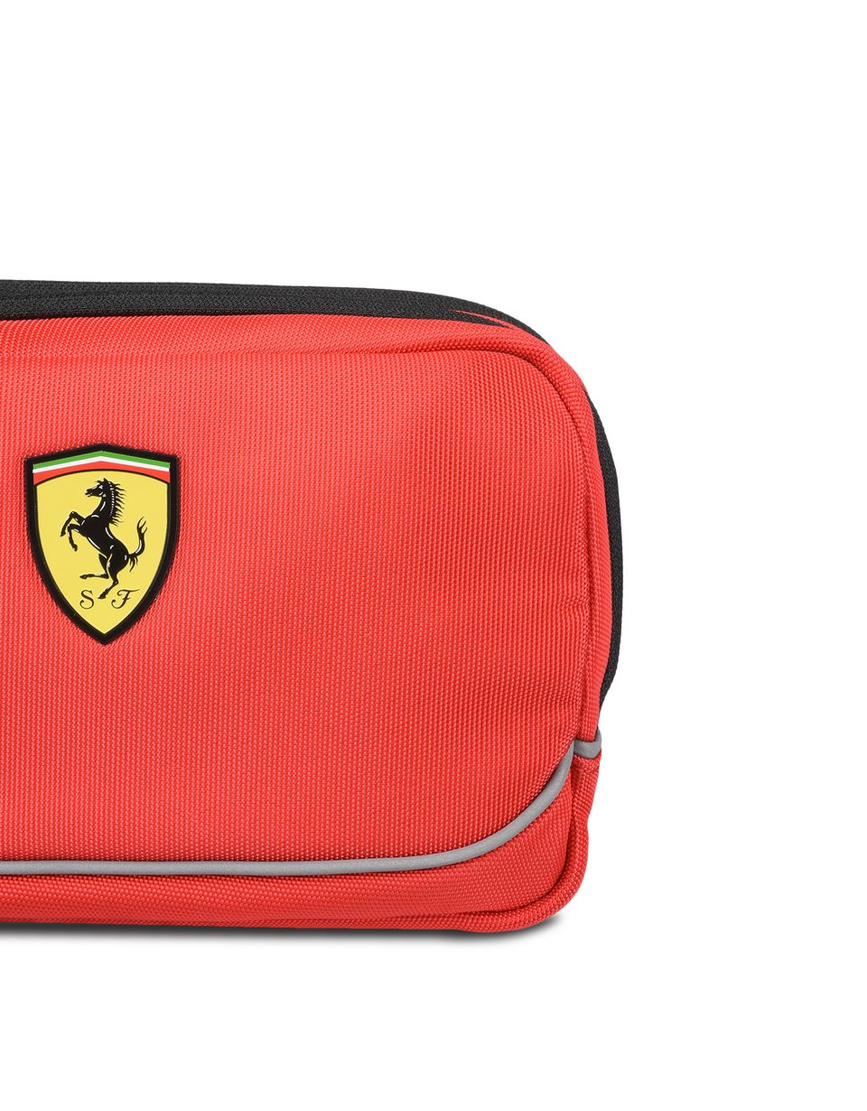 Scuderia Ferrari Online Store - Toiletry bag with contrasting color details - Toiletry Bags