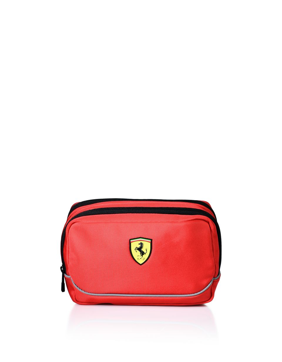 Scuderia Ferrari Online Store - Toiletry bag with contrasting color details -
