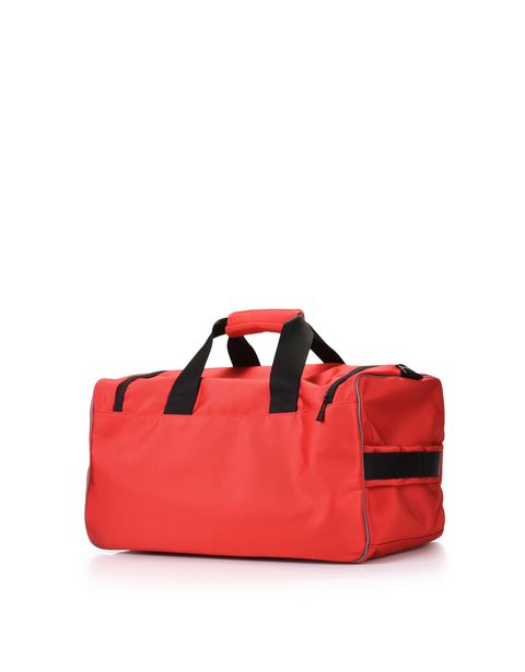 Sports bag with contrasting colour details
