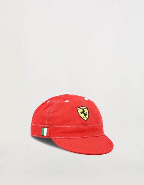Scuderia Ferrari cotton cap for children