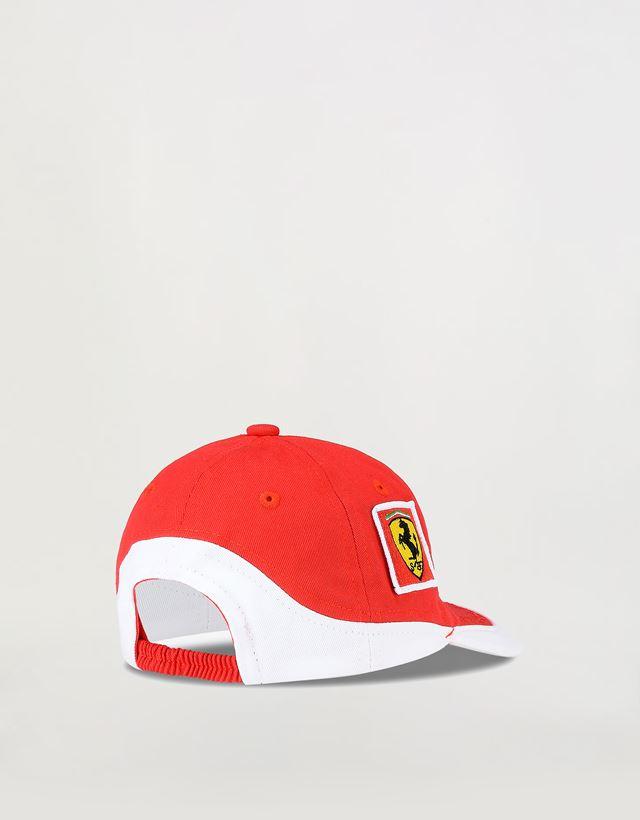 Scuderia Ferrari Online Store - Scuderia Ferrari Team cap for children - Baseball Caps