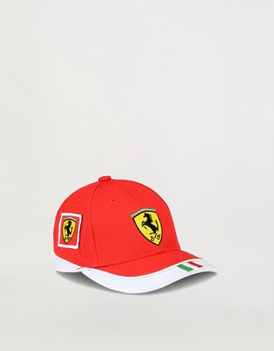Infant Scuderia Ferrari Red Team Cap