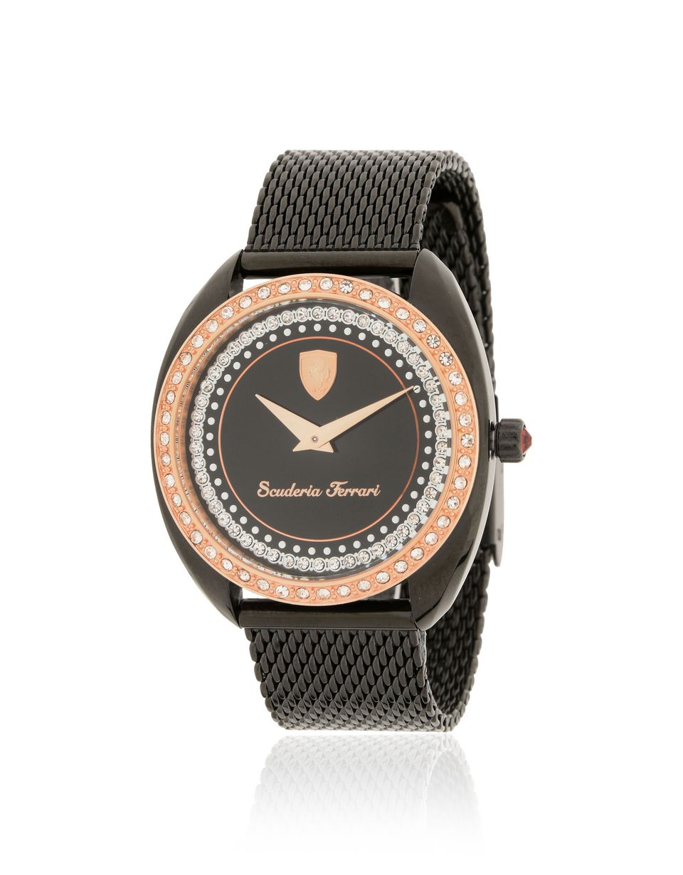 Scuderia Ferrari Online Store - Formula Sportiva women's watch with crystals - Quartz Watches