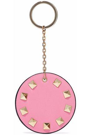 VALENTINO GARAVANI Rockstud leather keychain