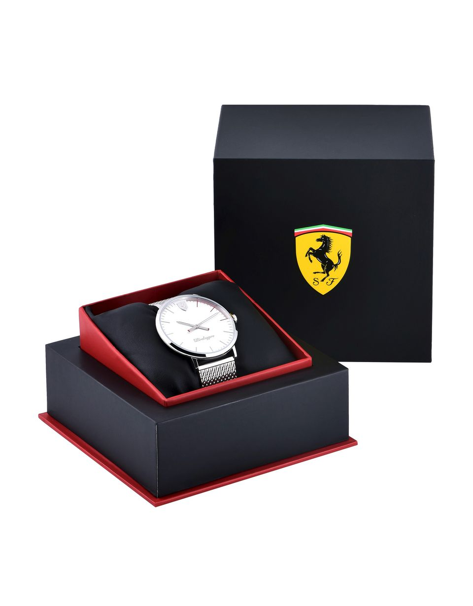 Scuderia Ferrari Online Store - Ultraleggero Scuderia Ferrari steel watch - Quartz Watches