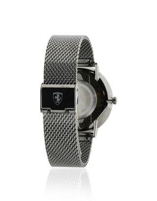 Scuderia Ferrari Online Store - Ultraleggero steel watch with black dial - Quartz Watches