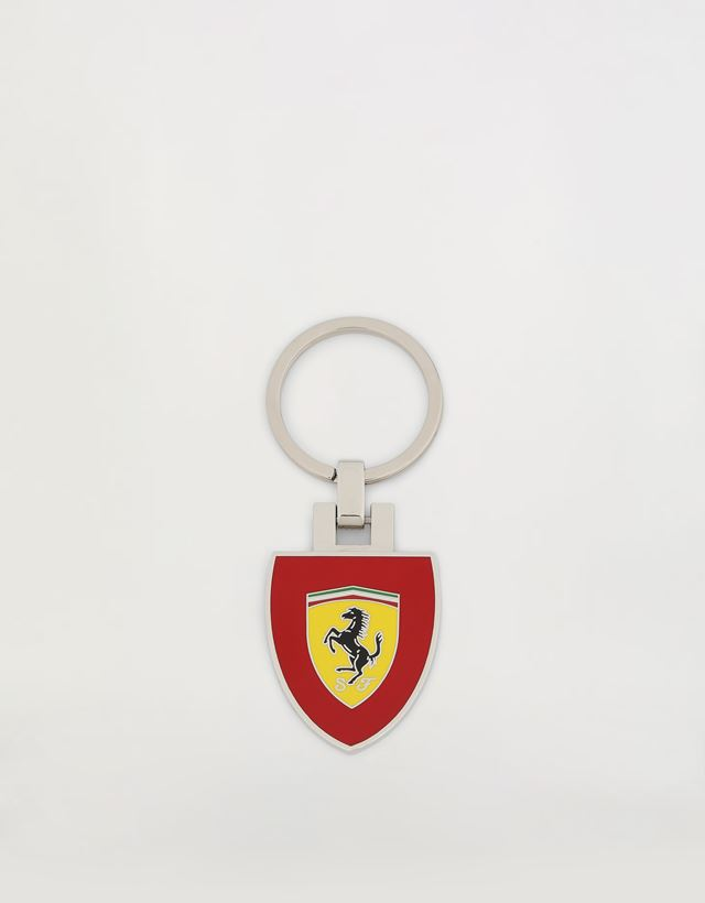 Scuderia Ferrari Online Store - Metal keyring with Ferrari Shield - Keyrings