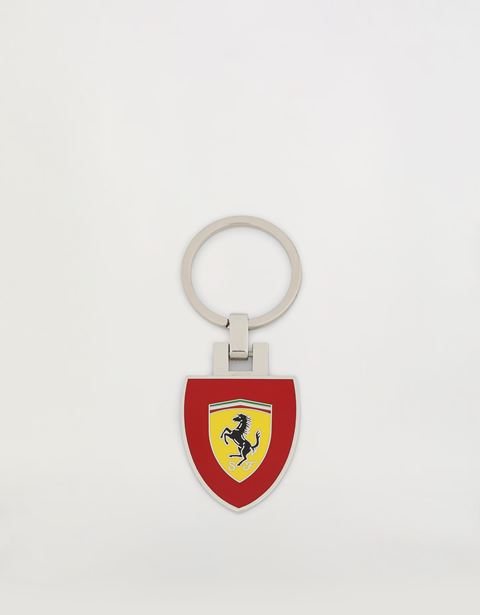 Metal keyring with Ferrari Shield