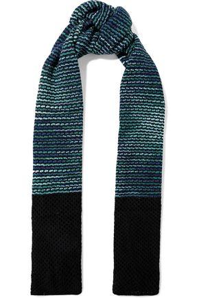 M MISSONI Crochet-knit wool scarf