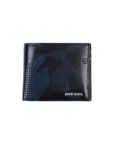DIESEL メンズ 財布 ブラック 革
