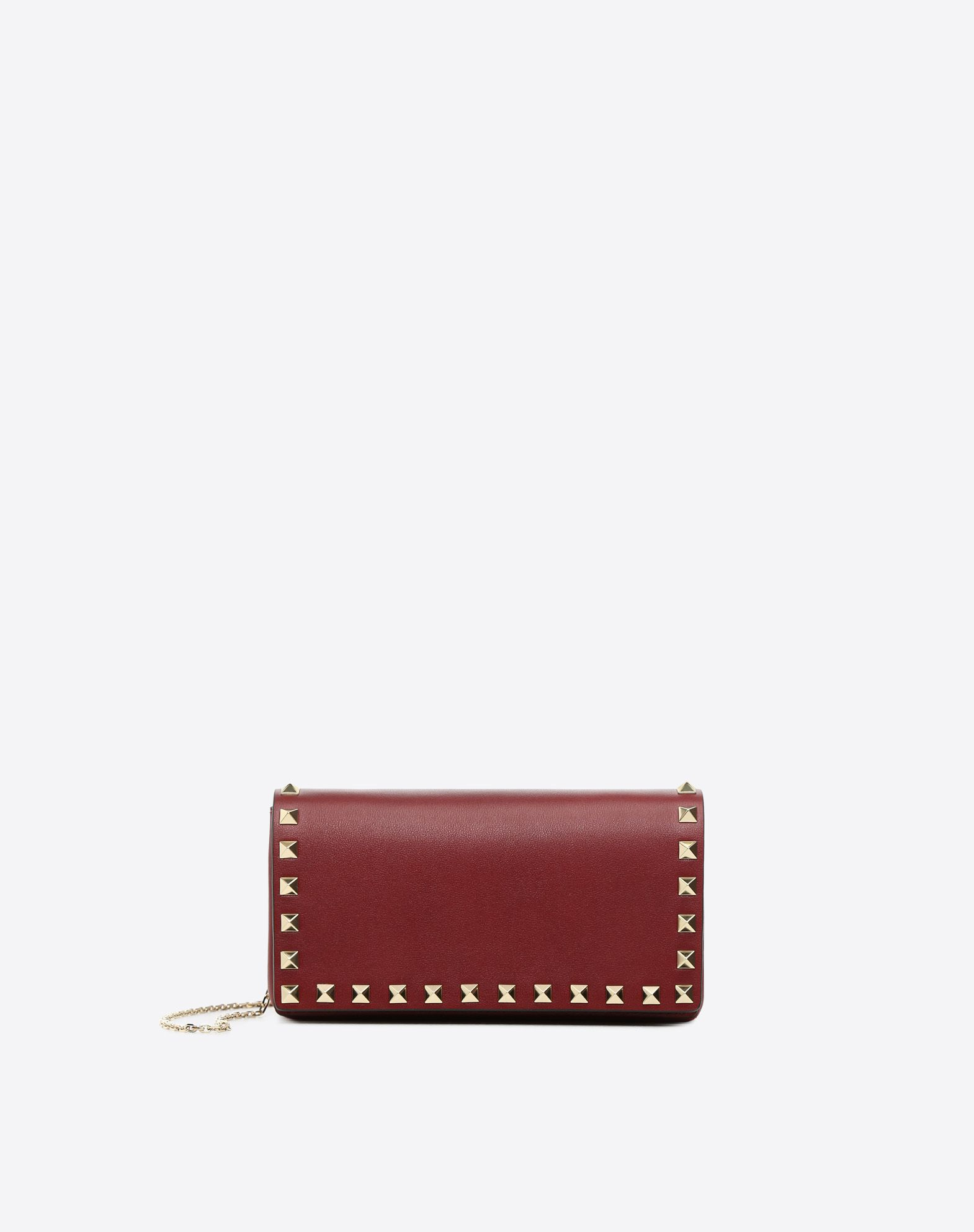 Rockstud Pouch On Chain