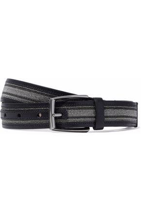 BRUNELLO CUCINELLI Beaded leather belt