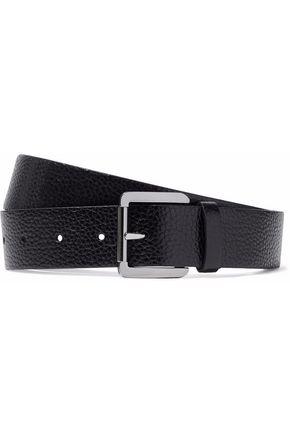BRUNELLO CUCINELLI Pebbled-leather belt