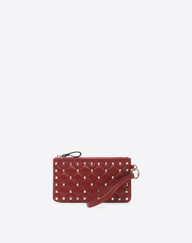 Small Rockstud Spike Pouch