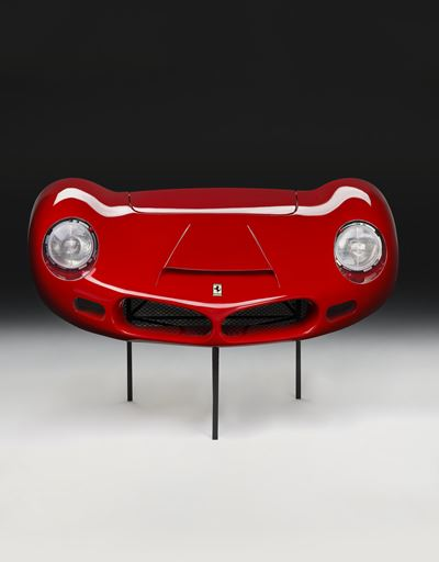 1962 Ferrari 268 SP front end