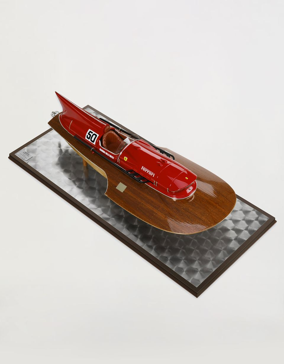 Scuderia Ferrari Online Store - Exclusive Arno XI hydroplane model at 1:8 scale - Car and Boat Models 1:8