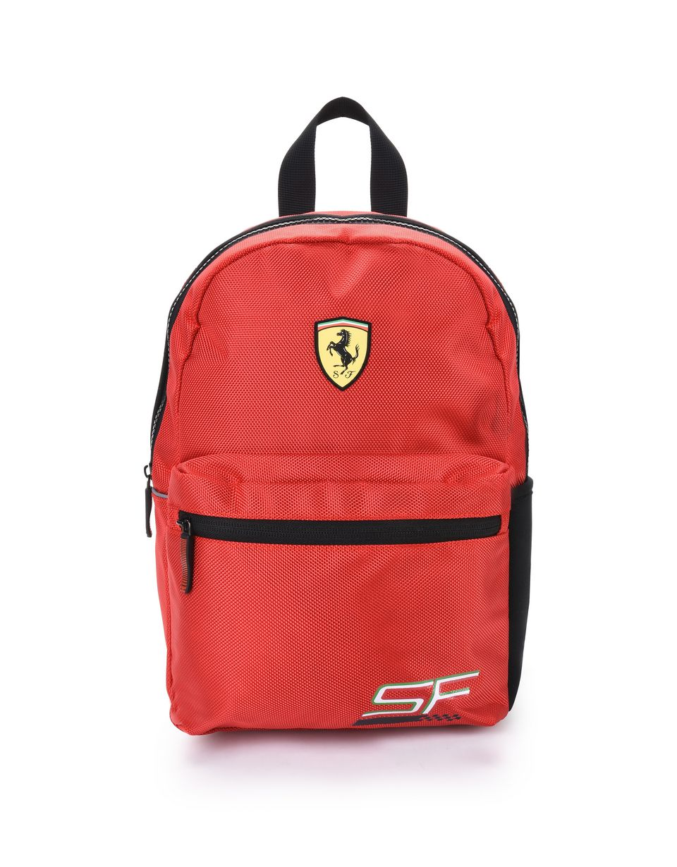 Scuderia Ferrari Online Store - All-over print fabric backpack for girls - School Bags