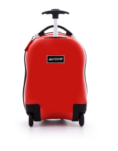 Scuderia Ferrari Online Store - F-Racing hard-shell trolley suitcase for children - Trolleys & Luggage