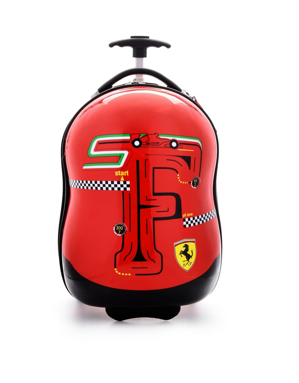 Scuderia Ferrari Online Store - Kids' F-Racing hardside wheeled suitcase - Trolleys & Luggage