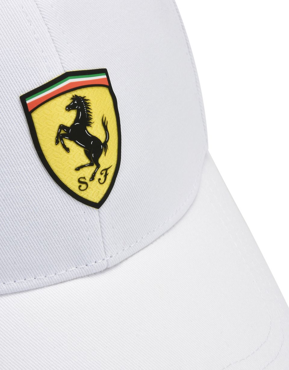 Scuderia Ferrari Online Store - Men's two-tone cap with Ferrari Shield -