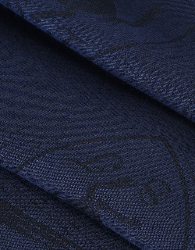 Scuderia Ferrari Online Store - Rectangular Scarf with Ferrari Shield - Scarves