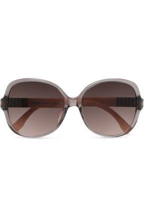 round-frame-acetate-sunglasses by fendi