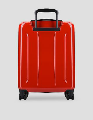 Scuderia Ferrari Online Store - Carry-on size, hard-shell  wheeled suitcase with Ferrari Shield -