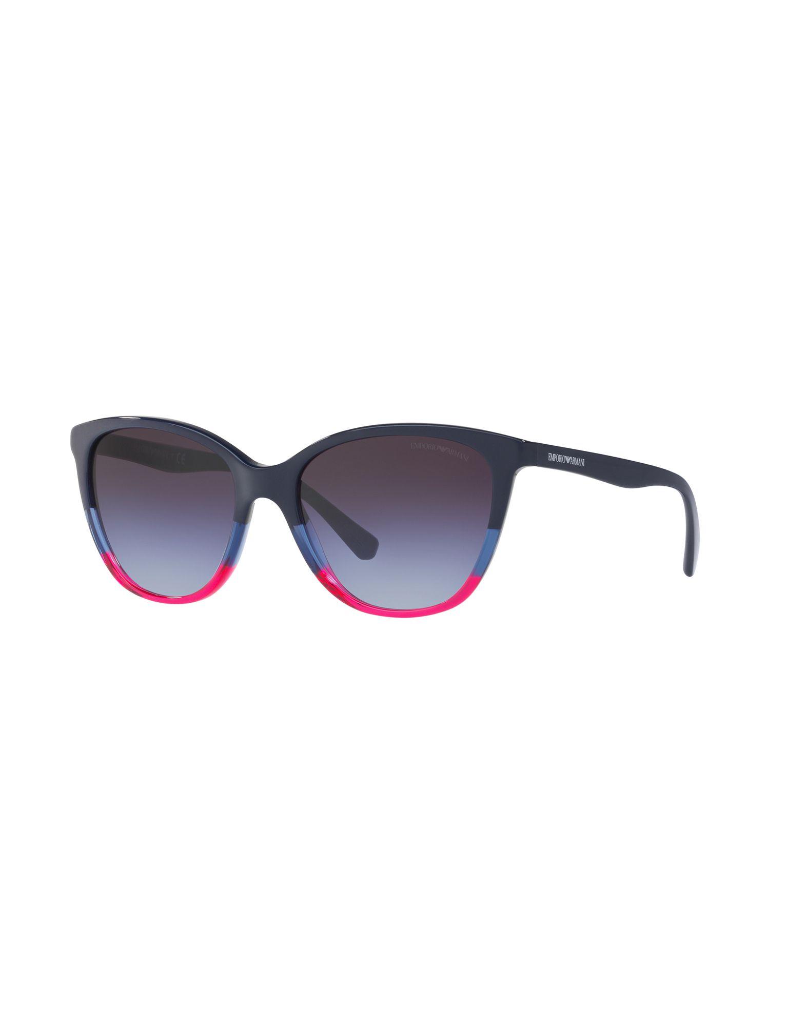 EMPORIO ARMANI Солнечные очки линзы цветные для глаз заказать