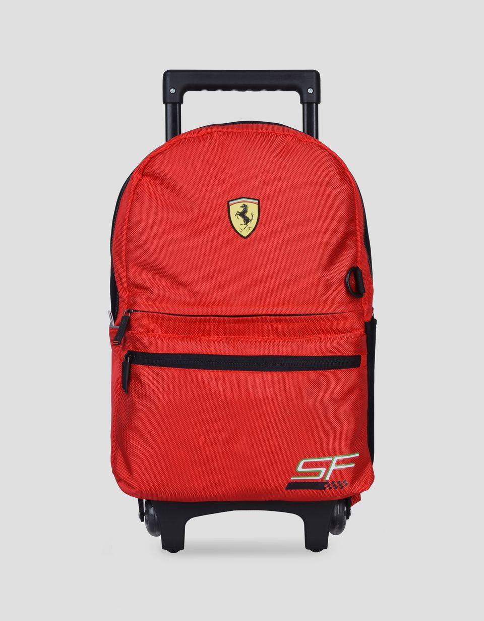 Scuderia Ferrari Online Store - Scuderia Ferrari trolley backpack for children -